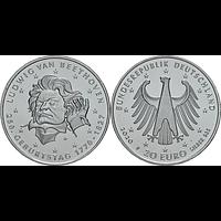 20 Euro Beethoven 2020 bfr Deutschland