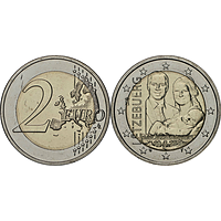 2 Euro Prinz Charles 2020 bfr Luxemburg