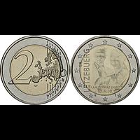 Luxemburg 2020 2 Euro Prinz Charles / Hologramm bfr