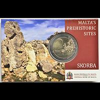 2 Euro Skorba 2020 Stgl. Malta Coincard
