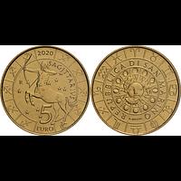 5 Euro Schütze 2020 Stgl. San Marino