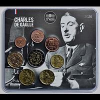 Frankreich 2020 3,88 Euro Mini KMS Charles de Gaulle Stgl.
