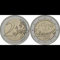 2 Euro Antarktis 2020 bfr Estland