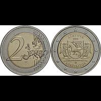 2 Euro Oberlitauen 2020 bfr Litauen
