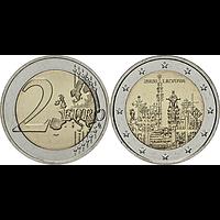 2 Euro Berg der Kreuze 2020 bfr Litauen