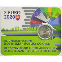 2 Euro OECD 2020 Stgl. Slowakei Coincard