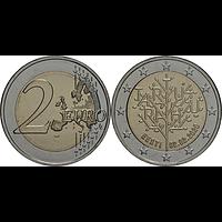 2 Euro Friedensvertrag Tartu 2020 bfr Estland