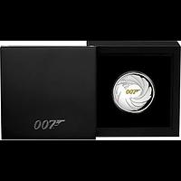 Tuvalu 2020 1 Dollar James Bond Highrelief Stgl.