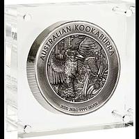 Australien 2020 60 Dollar Kookaburra - Highrelief / Antikfinish 2 kg Stgl.