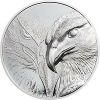 Mongolei 2020 250 T Majestic Eagle - im Etui 1 oz PP