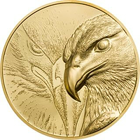 Mongolei 2020 25000 T Majestic Eagle - im Etui 1 oz PP