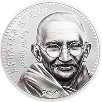 Mongolei 2020 1000 T Mahatma Gandhi (Schwarz/Weiß-Effekt) PP