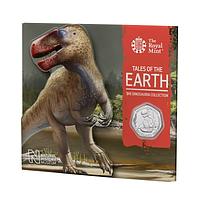 Großbritannien 2020 0.5 Pound The Dinosaura Collection - Megalosaurus Stgl.