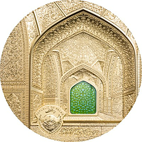 Palau Islands 2020 500 Dollar Tiffany Isfahan Gold PP