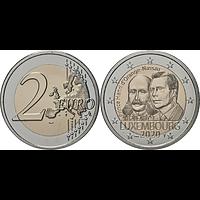 Luxemburg 2020 2 Euro 200. Geburtstag von Prinz Heinrich von Oranien-Nassau Münzzeichen Brücke Stgl.