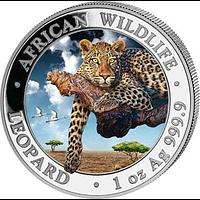Somalia 2020 100 Schilling Leopard farbig Stgl.