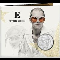Großbritannien 2020 5 Pfund Elton John - Musiklegenden Blister Stgl.