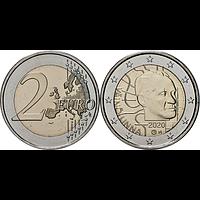 2 Euro Väinö Linna 2020 Stgl. Finnland