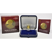 Italien 2020 10 Euro Marcus Aurelius - Römische Kaiser #4 PP