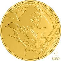 Niue 2020 250 Dollar Star Wars - Darth Vader - Bullion Stgl.