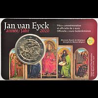 2 Euro Jan van Eyck FR Version 2020 bfr Belgien