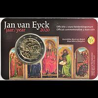 2 Euro Jan van Eyck NL Version 2020 bfr Belgien