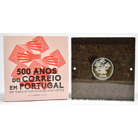 Portugal 2020 5 Euro 500 Jahre Post in Portugal PP