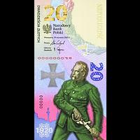Polen 2020 20 Zloty Schlacht um Warschau - Banknote bfr