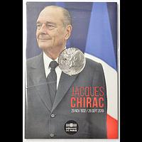 Frankreich 2020 10 Euro Jacques Chirac Stgl.