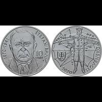 Slowakei 2020 10 Euro 150. Geburtstag Stefan Banic (Fallschirmerfinder) Stgl.