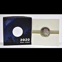 Finnland 2020 20 Euro 100 Jahre Väinö Linna PP