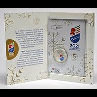 5 Euro Ski-WM 2021 Stgl. Italien