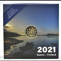 Finnland 2021 2 Euro Journalismus und Redefreiheit PP