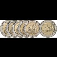 2 Euro Magdeburger Dom Komplettsatz 2021 bfr Deutschland