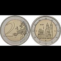 2 Euro Magdeburger Dom 2021 D bfr Deutschland