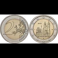 2 Euro Magdeburger Dom 2021 F bfr Deutschland