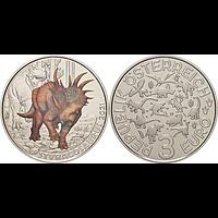 3 Euro Styracosaurus 2021 Stgl. Österreich