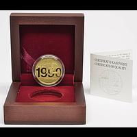 100 Euro 30 Jahre Unabhängigkeit 2020 PP Slowenien Gold