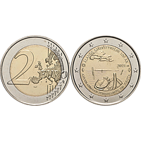 2 Euro Aland 2021 bfr Finnland