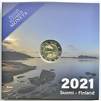 2 Euro Aland 2021 PP Finnland