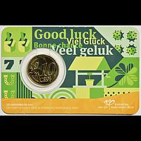 Niederlande 2021 10 Cent Glückszehner Stgl.