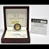 Luxemburg 2020 2 Euro Prinz Charles / Hologramm PP
