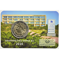 2 Euro Genetik 2020 bfr Zypern Coincard