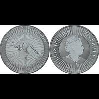 Australien 2021 1 Dollar Känguru 1oz Stgl.