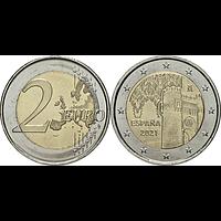 2 Euro Toledo 2021 bfr Spanien