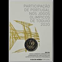 2 Euro Olympiade 2021 Portugal Coincard