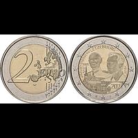 2 Euro Jean Hologrammprägung 2021 bfr Luxemburg
