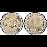 2 Euro Hochzeitstag Hologrammprägung 2021 bfr Luxemburg