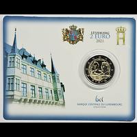 Luxemburg 2021 2 Euro 100. Geburtstag des Großherzogs Jean Stgl.