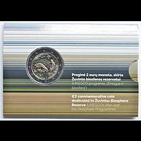 2 Euro Biosphärenreservat 2021 Stgl. Litauen Coincard